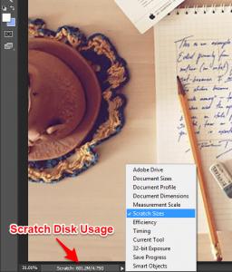photoshop scratch disk2